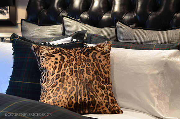 Ralph Lauren, pillow, Keeley Ocelot, leopard pillow