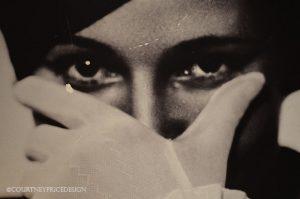 retro photography, black and white photos, interior design