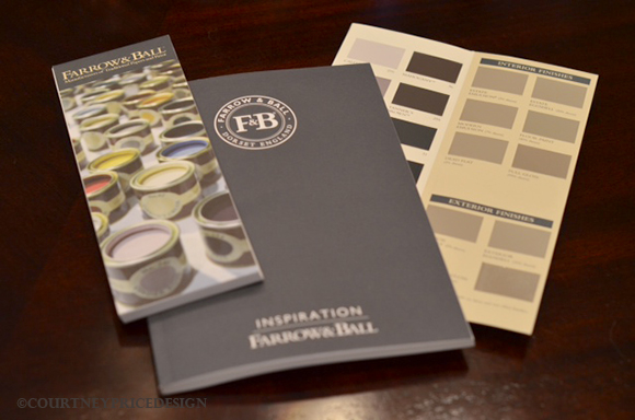 Farrow and Ball Paint Deck, paint colors