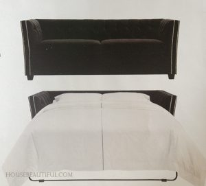 sleeper sofa, mitchell Gold, fiona, queen sleeper