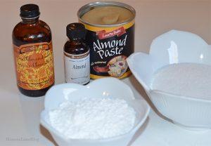 Almond Cookie Ingredients, best cookies ever