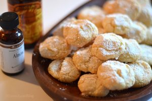 Almond Cookies, Homemade cookies, melt in your mouth,