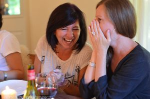 Laughter, Lynne Knowlton, Norma Theissen, Blogger Retreat