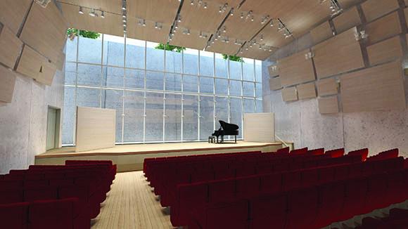 Renzo Piano Pavilion Auditorium, Kimbell Art Museum