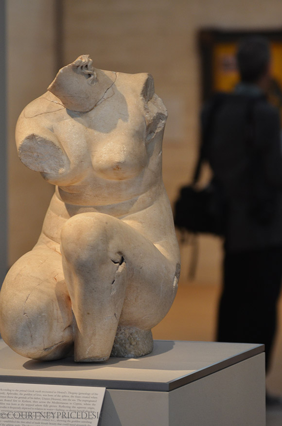 Crouching Aphrodite, circa 50 BC, sculpture, Kimbell Museum, Art Museum, Fort Worth, Texas art