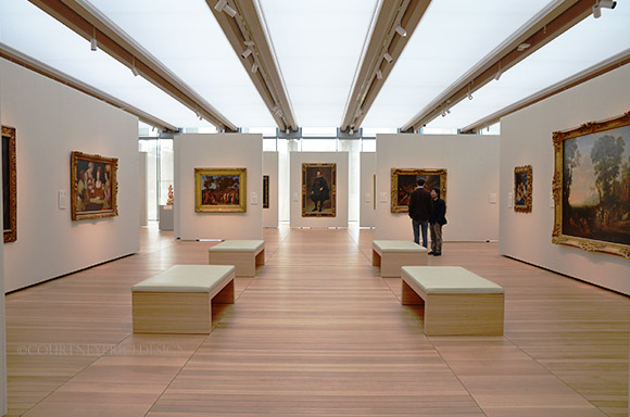 Kimbell Musem S New Renzo Piano Pavilion