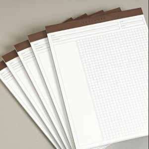 Grid Pads, note paper,