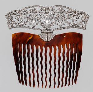 Tiffany comb, Metropolitan Museum of art,