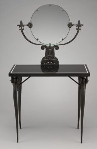 Dressing table, Rateau, Art Deco dressing table