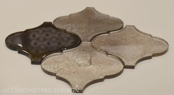 Mirrored Tiles, Ann Sacks on www.CourtneyPrice.com