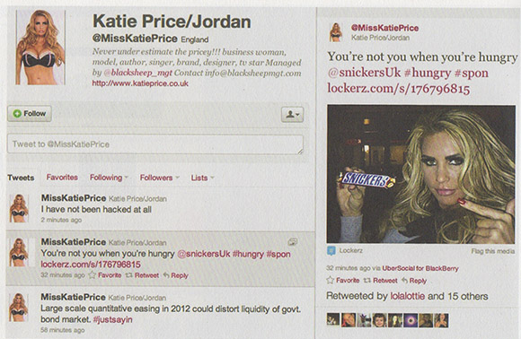 D&AD award, Twitter Campaign,Social Media Campaign, Snickers, YNYWYH on www.CourtneyPrice.com