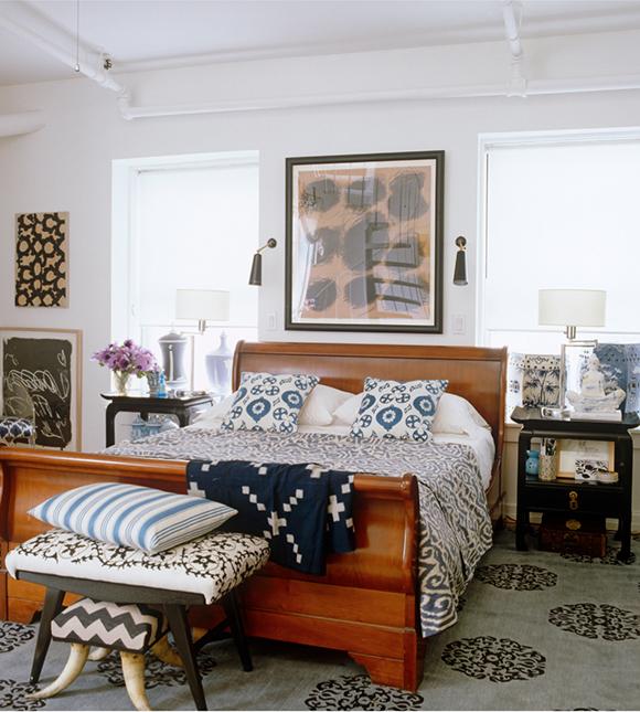 Madeline Weinrib textiles, Madeline Weinrib rug on www.CourtneyPrice.com
