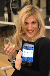 Maggie Langston, google event, party favor, nexus 7