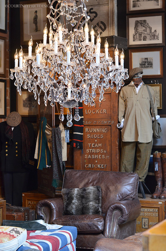 Timothy Oulton, Masculine style, British design, british style, man cave, gentleman decor on www.CourtneyPrice.com