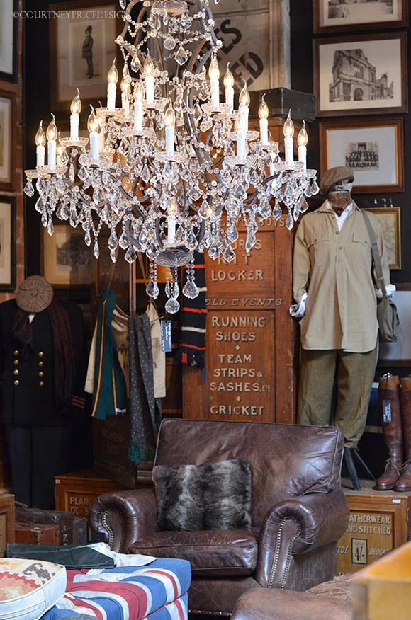 Timothy Oulton, Masculine style, British design, british style, man cave, gentleman decor on www.CourtneyPrice.com