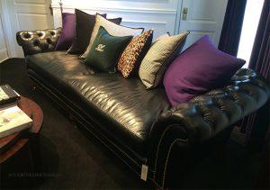 Ralph Lauren's Chesterfield sofa on www.CourtneyPrice.com