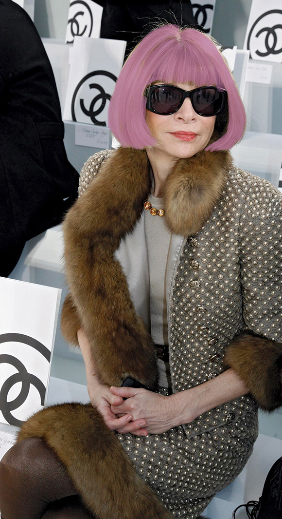 Radiant Orchid Anna-Wintour