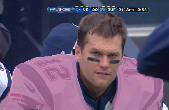 Radiant Orchid Tom Brady