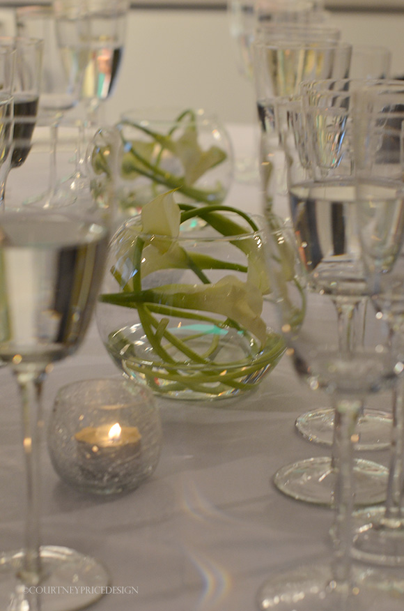 Simple Table Setting : Simple table setting Stemware