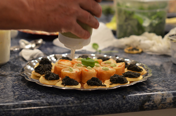 Food Presentation Pointers on www.CourtneyPrice.com