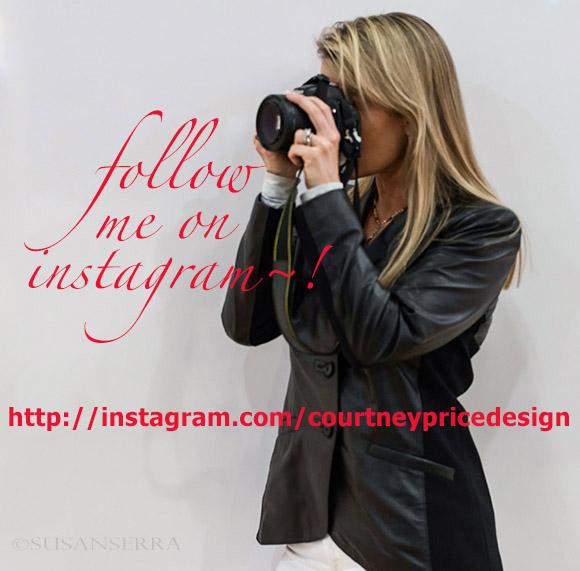 follow Courtney Price Design On Instagram