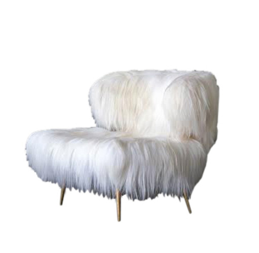 Dering Hall Wooly Chair on www.CourtneyPrice.com