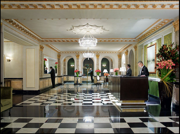 A virtual tour of The Pierre Hotel, today on www.CourtneyPrice.com