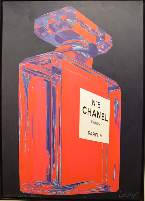 chanel no 5 -the Dallas Art Fair on www.CourtneyPrice.com