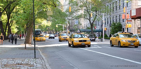 New York Cabs on www.CourtneyPrice.com