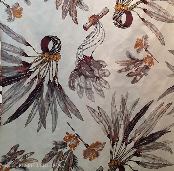 Hermes-fabric on www.CourtneyPrice.com