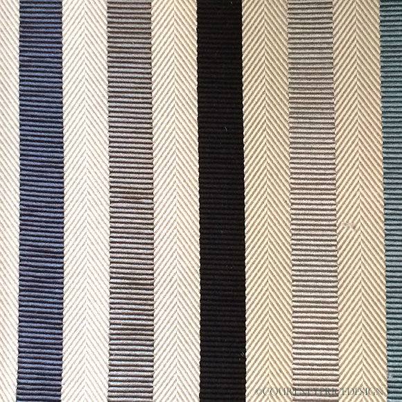 Hermes Stripes Hermes-fabric on www.CourtneyPrice.com
