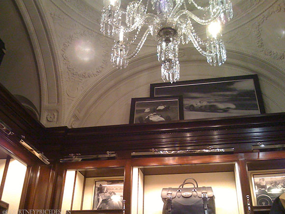 Ralph Lauren Ceilings, Ralph Lauren Flagship, story behind the mansion on www.CourtneyPrice.com