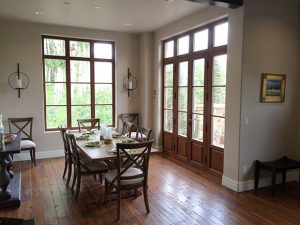 Better windows, floors and Doors… Villas at Cortina as seen on www.CourtneyPrice.com