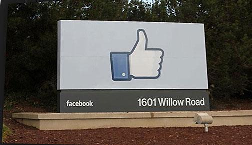 Facebook Offices, Silicon Valley tour- www.CourtneyPrice.com #girlTECH