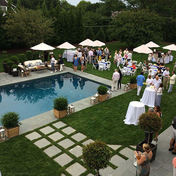 Hampton designer showhouse for Pool design hamptons