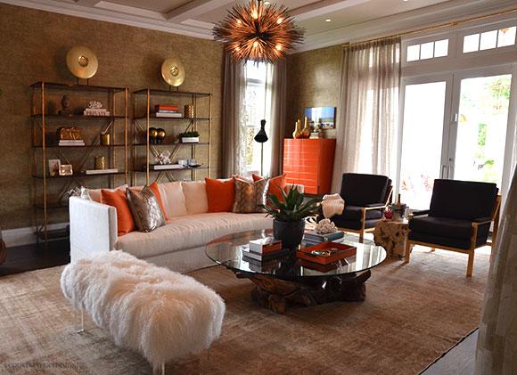 Living Room, Lilian August- Hampton Showhouse on www.CourtneyPrice.com