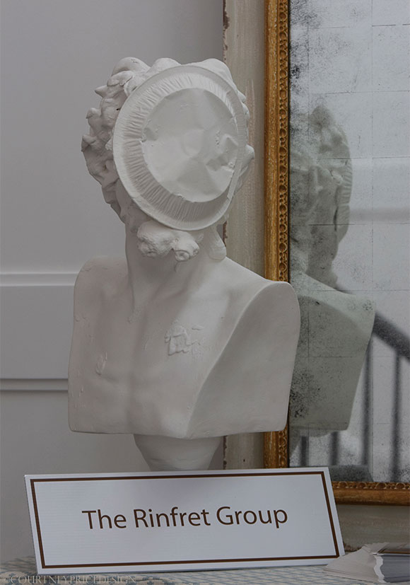 Pie In Face Bust, Rinfret Group, Hampton Showhouse on www.CourtneyPrice.com