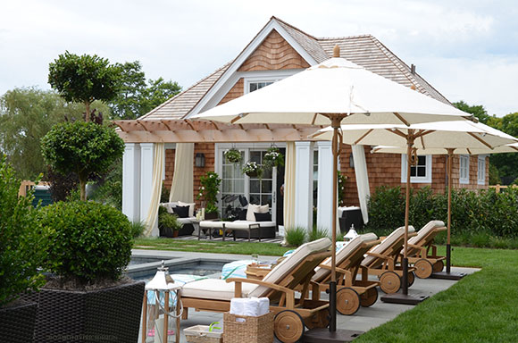 Hampton designer showhouse for Pool design hamptons