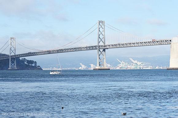 San Francisco Bay Bridge on www.CourtneyPrice.com