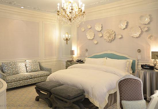 The Tiffany Suite, St Regis Hotel NYC on www.CourtneyPrice.com