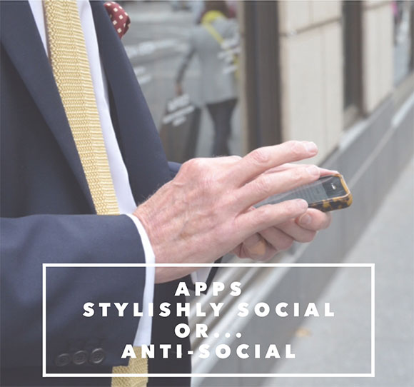 APPS- stylishly social, or… anti-social~ on www.CourtneyPrice.com #girlTECH