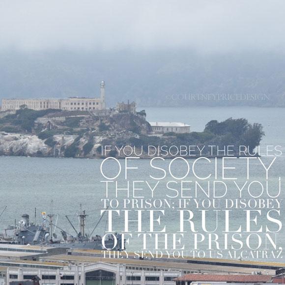 Alcatraz, San Francisco Travel Guide on www.CourtneyPrice.com  http://wp.me/p2e5e8-3Or