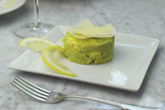 Artichoke Avocado Salad on www.CourtneyPrice.com