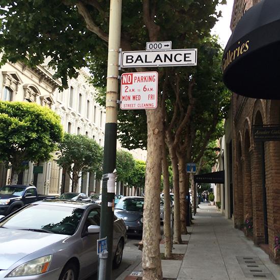 Balance Alley near Bix in San Francisco on www.CourtneyPrice.com