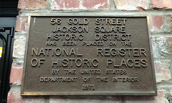 Gold Rush- Historic Landmark-  Bix in San Francisco on www.CourtneyPrice.com