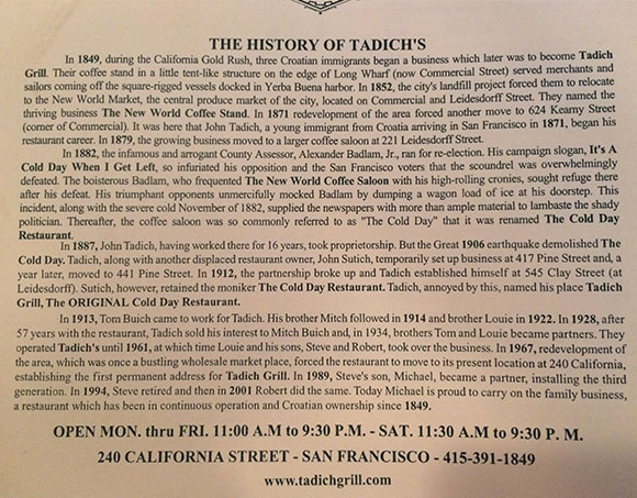 History of California's oldest restaurant, on www.CourtneyPrice.com