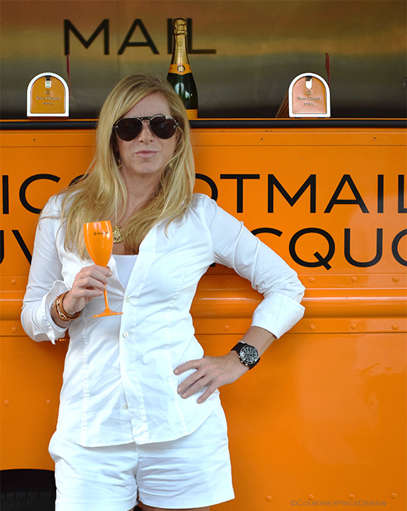 Ann Carpenter,  VeuveEvent, Veuve Clicquot, Dallas on www.CourtneyPrice.com