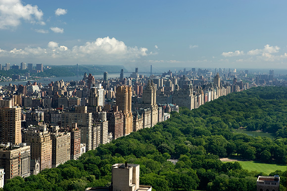 Central Park View. The London Hotel NYC, on www.CourtneyPrice.com