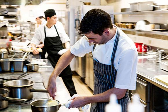 Gordon Ramsay tasting kitchen, The London Hotel NYC, on www.CourtneyPrice.com
