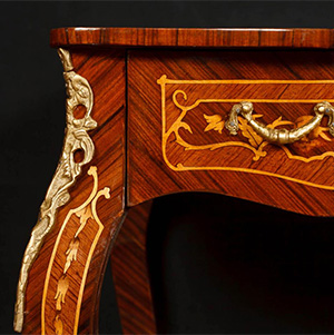 french furniture three desks three styles and a decorative arts